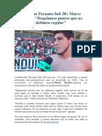 Selección Peruana Sub 20.docx
