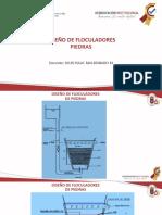 DISEÑO FLOCULADOR PIEDRAS