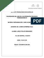 PROPIEDADES DEL AIRE EN DIFERENTES PROCESOS TERMODINÁMICOS.docx