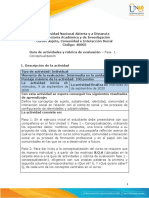 Guía de actividades y rúbrica de evaluación - Unidad 1 - Fase 1 - Concetualización (1)