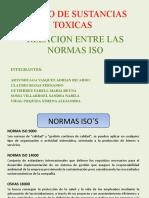 MANEJO DE SUSTANCIAS TOXICAS