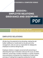 session 7 - employee relations & discipline interviews