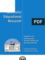 Successful Educational Research