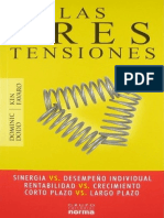 las 3 tensiones - Libro