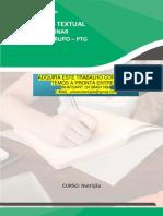 A proposta de Produção Textual Interdisciplinar em Grupo (PTG) terá como temática Receita com alimentos funcionais.