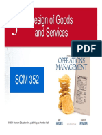 Chapter 05 Design of Goods & Services 8th Ed 2011
