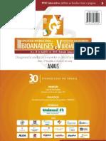 CONGRESSO INTERNACIONAL DE BIOANÁLISES - 2009 - FEEVALE
