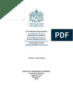 Laboratorio 7. Flotacion Informe