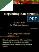 BAB 12 Kepemimpinan Stratejik-new