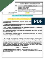 exercício avaliativo sobre aleitamento materno e notificação compulsória-1
