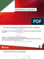 Modelos Econométricos y su aplicación