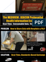 The MEDIVIEW BEACON Prehospital Health Information Exchange