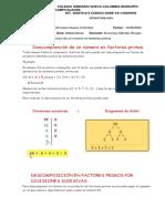 Descomposición de un número en factores primos 5
