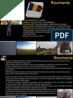 Fiche Pays Roumanie