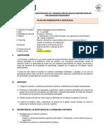 Plan de Formación a Distancia-FT