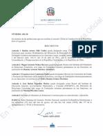 6. Decreto Pendiente de Publicación en Gaceta