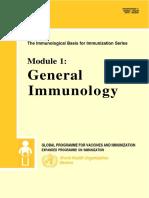 who imunologi