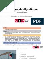 Unidad 2_Semana 8_Principios de Algoritmos_Introduccion