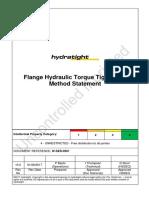 Flange Hydraulic Torque Tightening Procedure.pdf