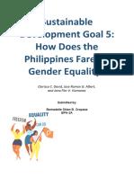 Sustainable Development Goal 5.docx
