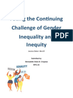 Gender Inequality and Inequity.edited.docx