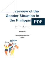 1 An Overview of the Gender Situation.docx