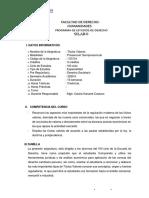 SILABO TÍTULOS VALORES 2020 -II