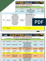 (2) RPS T.s. XI Class  Schedule