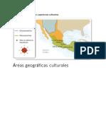 Áreas geográficas culturales