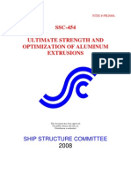 Ultimate Strength and Optimization of Aluminum Extrusions