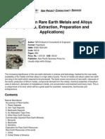 Handbook of RE and Alloys(P,E,Pre,App)