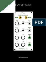Tiptop Audio Foldprocessor Manual