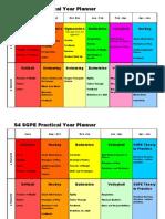 S'Grade Practical Year Planner