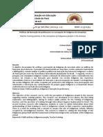 Políticas de formação de professores na concepção de indígenas da Amazônia