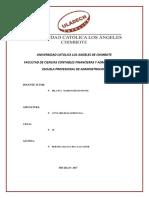 Actividad Nº 03 Informe de Trabajo Colaborativo I Unidad -