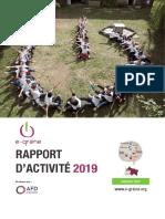 Rapport d'Activité 2019 e-graine Grand Est