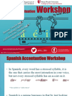 Spanish Accentuation Workshop