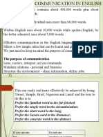 10.Effective Communication in English