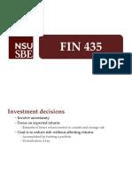 FIN 435 - Exam 2 slides