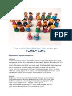Cómo Trabajar Constelaciones Familiares Con El Kit Family Love