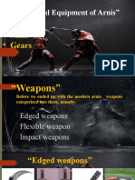 Facilities and Equipments of Arnis. PPT