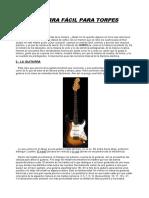 Dummies - GUITARRA FACIL PARA TORPES.doc