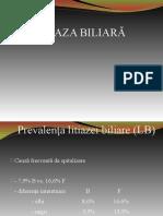 Litiaza biliara Aprilie 2020