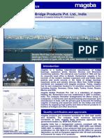 02.mageba India - Company leaflet Bridge Version 2015.01 EN CGHO