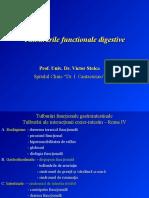 Tulburarile functionale digestive, dispepsia, sindromul de intestin iritabil