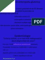 Afectiunile intestinului subtire (enteropatia glutenica, sindromul de intestin scurt)