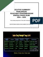Executive Summary Roadmap 11-3-04