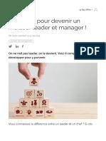 6 qualités pour devenir un meilleur leader et manager ! | Cadreo.pdf