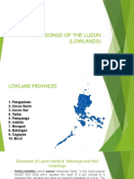 FOLKSONGS OF THE LUZON (LOWLANDS).pptx