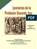 1-GARCIA HUIDOBRO--Los Escenarios de La Profesión Docent (1)